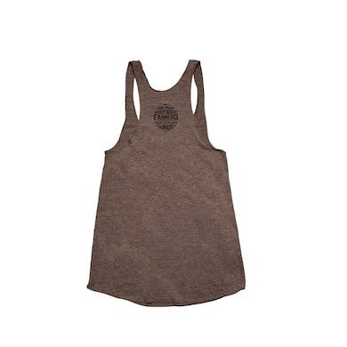 Willie's Reserve Coffee-Brown Logo Women's Tank Top