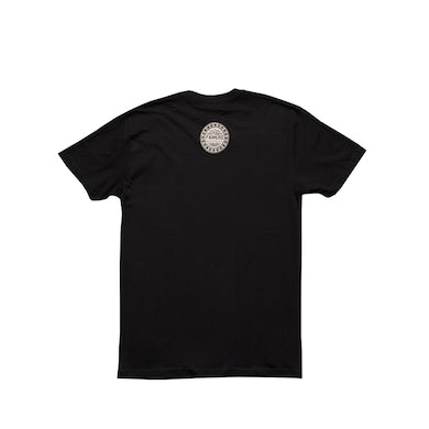 Willie's Reserve Logo on a Black Next Level SS Men's Tee