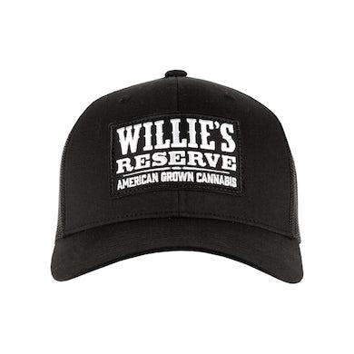 Willie's Reserve Patch Black Cap