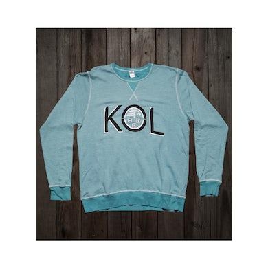 Kings Of Leon Turquoise Logo Crewneck Sweatshirt