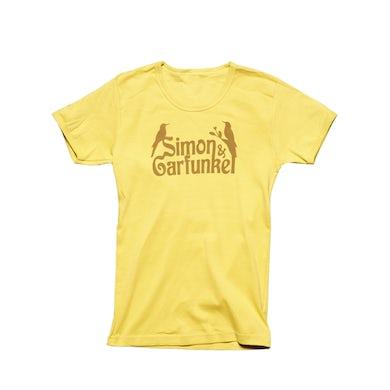 Simon & Garfunkel Dijon Yellow Women's-Birds