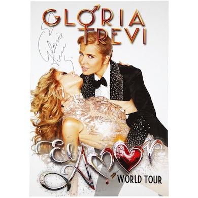 Autographed 2015 Tour Poster