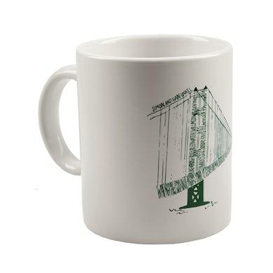 Simon & Garfunkel White Coffee Mug-Bridge Art