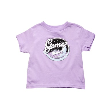Gomez Moon Logo Lilac Youth Toddler Tee