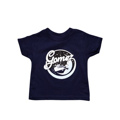 Gomez Moon Logo Navy Blue Youth Toddler Tee