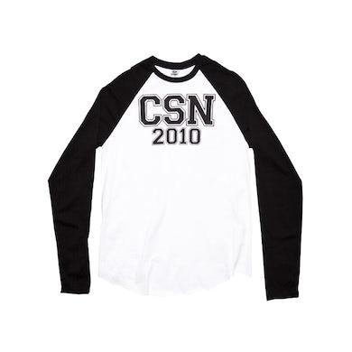 Crosby, Stills & Nash White/Black Baseball-2010 Tour/Itinerary