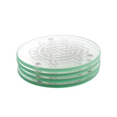 Crosby, Stills & Nash CSN Logo Glass Coaster Set