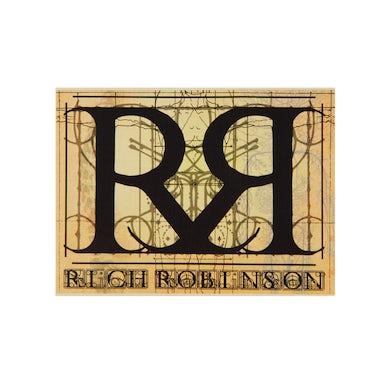Rich Robinson   Double R Logo Sticker