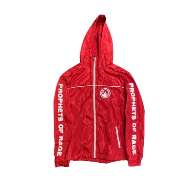 Prophets Of Rage Red Nylon Track Jacket