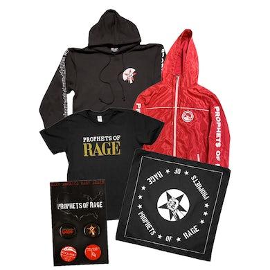 Prophets Of Rage Red Jacket Bundle