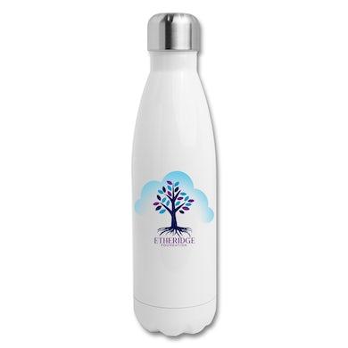 Melissa Etheridge White Etheridge Foundation Insulated Stainless Steel Water Bottle