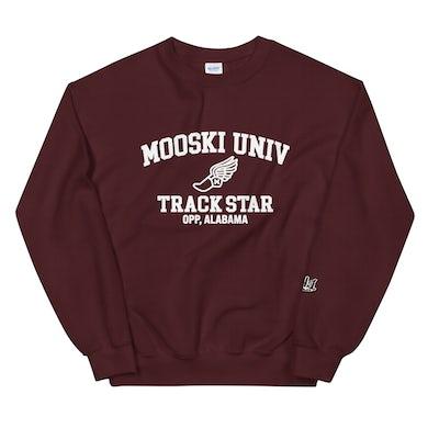 Mooski University Track Star Crewneck