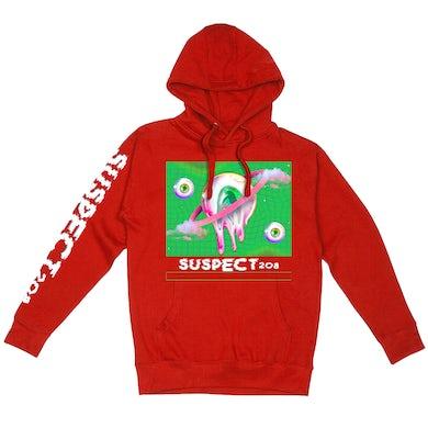 "Suspect208 Suspect 208 ""Eyeball"" Premium All Over Print Pullover Hoodie"