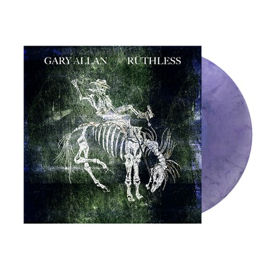 Gary Allan Exclusive Ruthless Pearlized Purple Vinyl