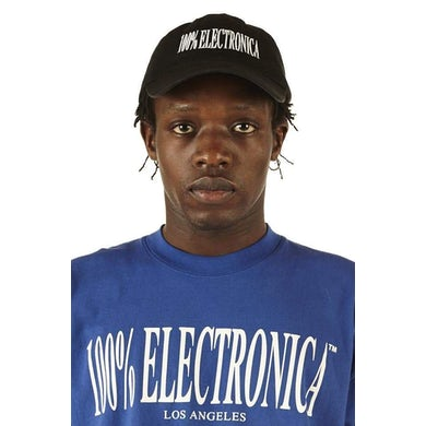 100% Electronica Hat - Black - FW20/21