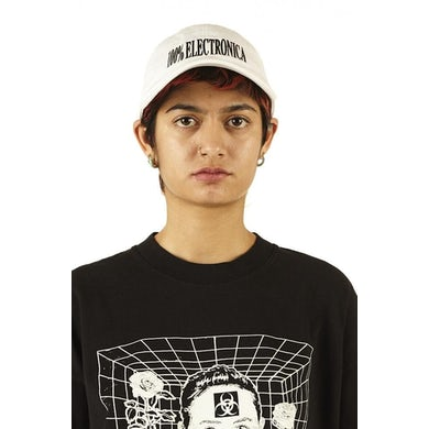 100% Electronica Hat - White - FW20/21