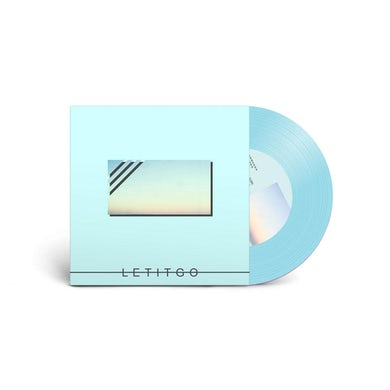 "Let It Go 7"" on Teal Vinyl"