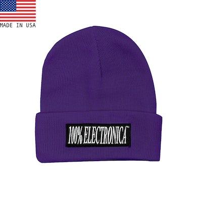 100% Electronica Beanie - Purple - FW20/21
