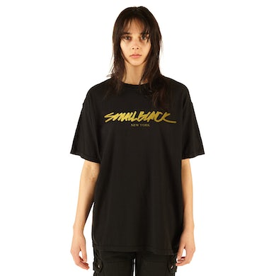 """New York"" Tee - Gold"