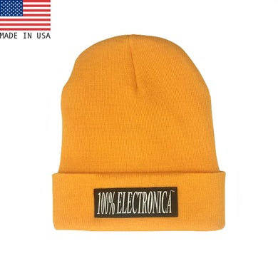 100% Electronica Beanie - Pudina Yellow - SS21