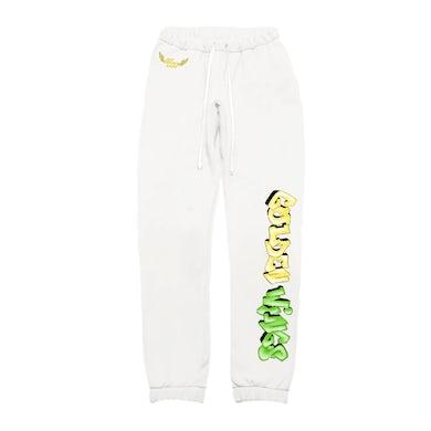 Zoe Wees Golden Wings Sweatpants - White
