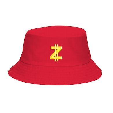Zoe Wees Z Logo Bucket Hat - Red