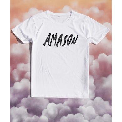 AMASON T-shirt Logo Vit