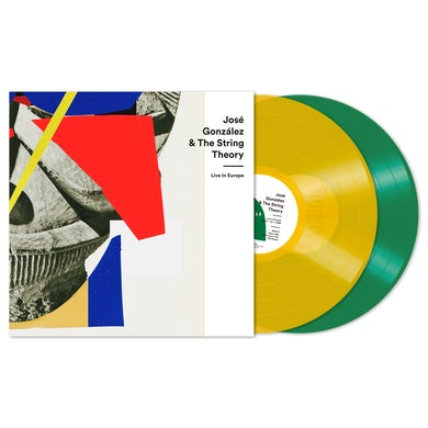 Josè Gonzàlez & The String Theory Live In Europe Coloured Double Vinyl