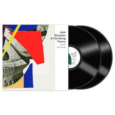 Josè Gonzàlez & The String Theory Live In Europe Standard Double Vinyl