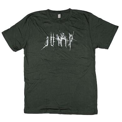 Jose Gonzalez Junip Logo T-shirt GreenGrey