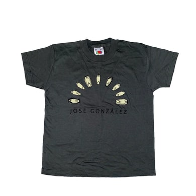 Jose Gonzalez Dead birds T-shirt Green