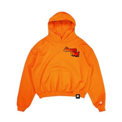 A Gangsta's Pain Hoodie Orange