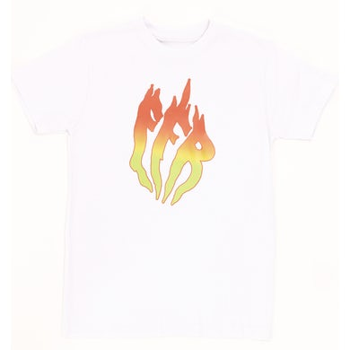 K. Forest FUEGO FLAME TEE - WHITE