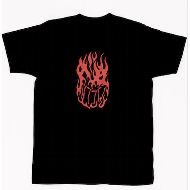 K. Forest WELCOME TO THE WILDFIRE TEE - BLACK