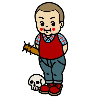 "Road Dog Merch Danger Pins Series 1 ""Skin Kid"""