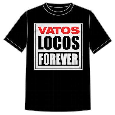"Manic Hispanic ""Vatos Locos"" Black Shirt"