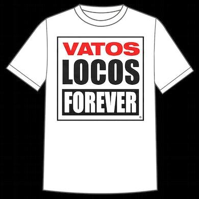 """Manic Hispanic """"Vatos Locos"""" White Shirt"""