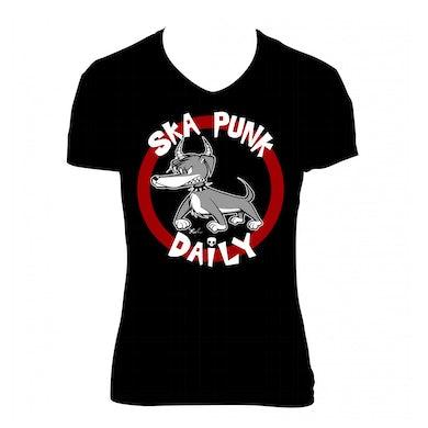 """Road Dog Merch Ska Punk Daily """"Dog"""" Shirt (Woman)"""