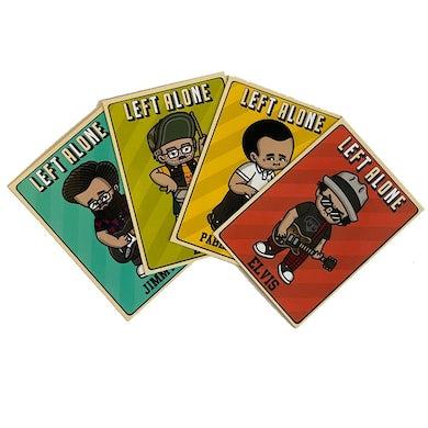 Left Alone Baseball Cards