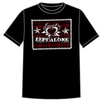 """Left Alone """"Plaid Hear Logo"""" Shirt"""