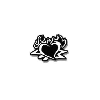 """Left Alone """"Heart"""" Enamel Pin"""