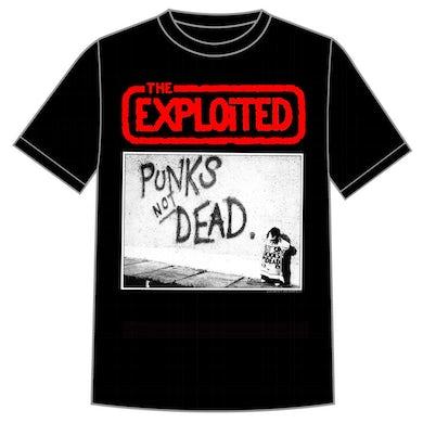 """The Exploited """"Punks Not Dead"""" Shirt"""