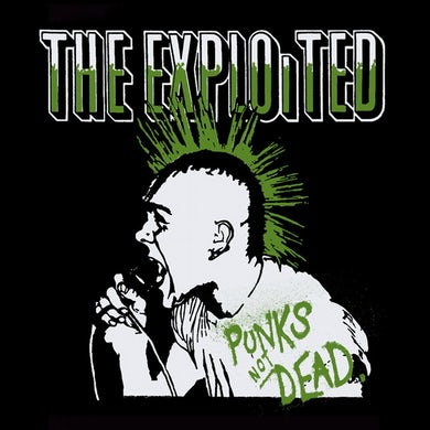 """The Exploited """"Punks"""" Back Patch"""