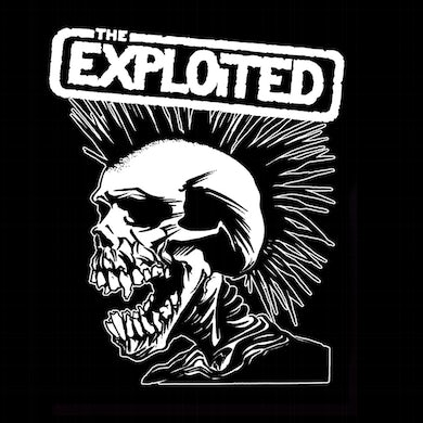 """The Exploited """"Pushead Skull"""" Back Patch"""