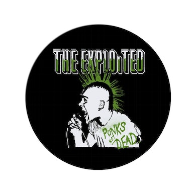"""The Exploited """"Punks' Pin"""