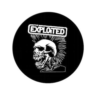 """The Exploited """"Pushead Skull' Pin"""
