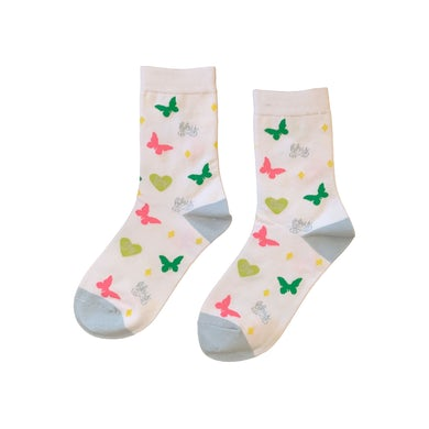 Piper Rockelle BBY Socks White 2 Pack