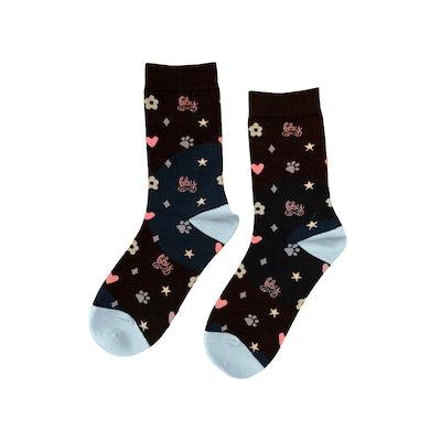 Piper Rockelle BBY Socks Black 2 Pack