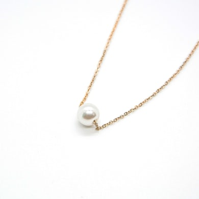 Piper Rockelle BBY Floating Pearl Necklace