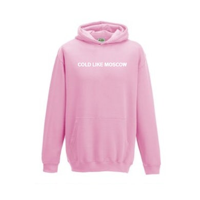 """Jaykae - """"Cold Like Moscow"""" - Limited Edition Hoodie in Pink"""
